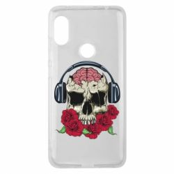 Чохол для Xiaomi Redmi Note Pro 6 Skull and roses