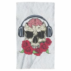 Рушник Skull and roses