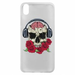 Чохол для Xiaomi Redmi 7A Skull and roses