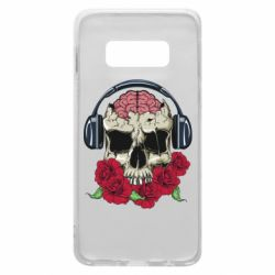Чохол для Samsung S10e Skull and roses