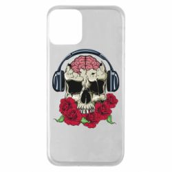 Чохол для iPhone 11 Skull and roses