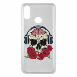 Чохол для Samsung A10s Skull and roses