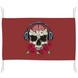 Прапор Skull and roses