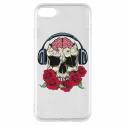 Чохол для iPhone 7 Skull and roses