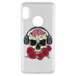 Чохол для Xiaomi Redmi Note 5 Skull and roses