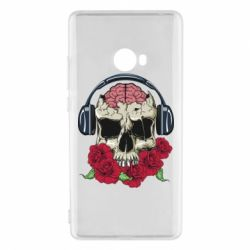 Чохол для Xiaomi Mi Note 2 Skull and roses