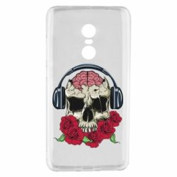 Чохол для Xiaomi Redmi Note 4 Skull and roses