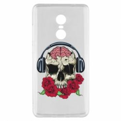Чохол для Xiaomi Redmi Note 4x Skull and roses