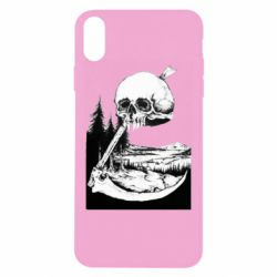 Чохол для iPhone Xs Max Skull and Spit