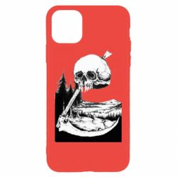 Чохол для iPhone 11 Pro Max Skull and Spit
