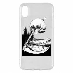 Чохол для iPhone X/Xs Skull and Spit
