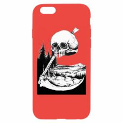 Чохол для iPhone 6/6S Skull and Spit