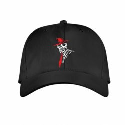 Детская кепка Skull in a hat with a tie