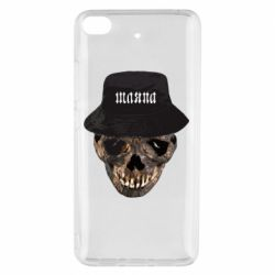 Чехол для Xiaomi Mi 5s Skull in hat and text