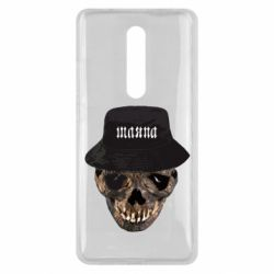 Чехол для Xiaomi Mi9T Skull in hat and text