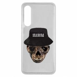 Чехол для Xiaomi Mi9 SE Skull in hat and text