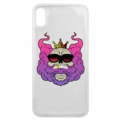 Чохол для iPhone Xs Max Skull in the Crown