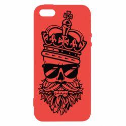 Купить Mokkinen, Чехол для iPhone5/5S/SE Skull in the Crown, FatLine