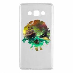 Чохол для Samsung A7 2015 Skull of a sea of thieves