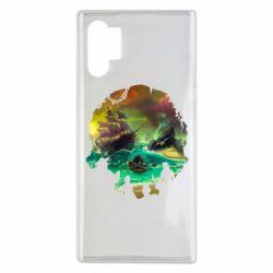Чохол для Samsung Note 10 Plus Skull of a sea of thieves
