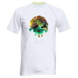 Чоловіча спортивна футболка Skull of a sea of thieves