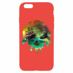 Чехол для iPhone 6/6S Skull of a sea of thieves