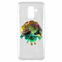 Чохол для Samsung A6+ 2018 Skull of a sea of thieves