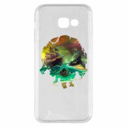 Чохол для Samsung A5 2017 Skull of a sea of thieves