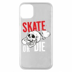 Чохол для iPhone 11 Pro skull Skate or die