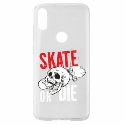 Чохол для Xiaomi Mi Play skull Skate or die