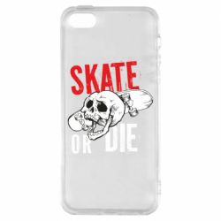 Чохол для iphone 5/5S/SE skull Skate or die