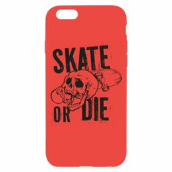 Чохол для iPhone 6/6S skull Skate or die