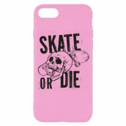 Чохол для iPhone 8 skull Skate or die