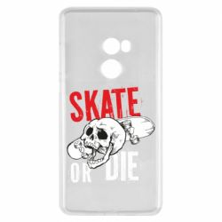 Чохол для Xiaomi Mi Mix 2 skull Skate or die