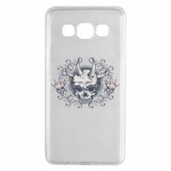 Чохол для Samsung A3 2015 Skull with horns and patterns