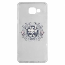 Чохол для Samsung A5 2016 Skull with horns and patterns