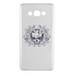 Чохол для Samsung A7 2015 Skull with horns and patterns