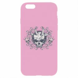 Чохол для iPhone 6 Plus/6S Plus Skull with horns and patterns