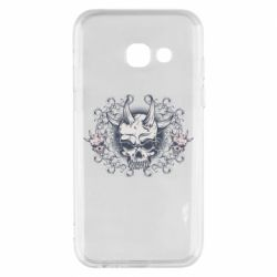 Чохол для Samsung A3 2017 Skull with horns and patterns