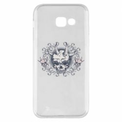 Чохол для Samsung A5 2017 Skull with horns and patterns