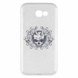 Чохол для Samsung A7 2017 Skull with horns and patterns