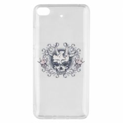 Чохол для Xiaomi Mi 5s Skull with horns and patterns