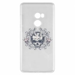 Чохол для Xiaomi Mi Mix 2 Skull with horns and patterns
