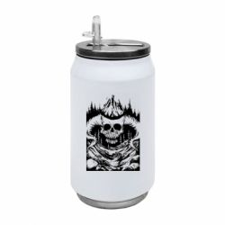 Термобанка 350ml Skull with horns in the forest