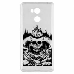Чехол для Xiaomi Redmi 4 Pro/Prime Skull with horns in the forest