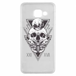 Чохол для Samsung A3 2016 Skull with insect