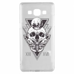 Чохол для Samsung A5 2015 Skull with insect