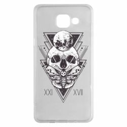 Чохол для Samsung A5 2016 Skull with insect