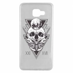 Чохол для Samsung A7 2016 Skull with insect