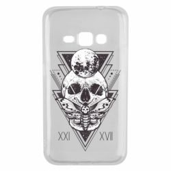 Чохол для Samsung J1 2016 Skull with insect